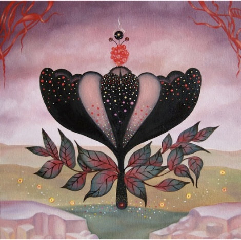 Arabella Proffer - Pink Flower