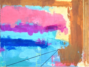 """Prospect – 18"""" x 24"""" – on canvas – Acrylic blend mix"""