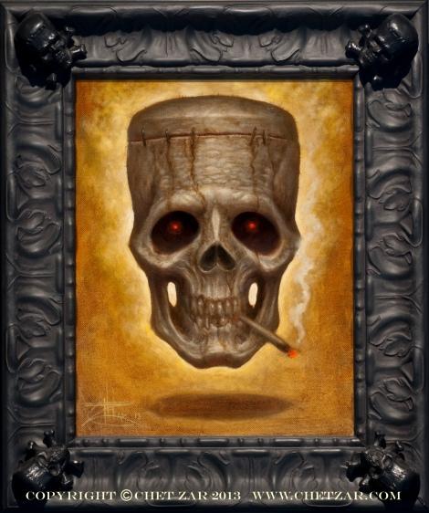 Franken skull