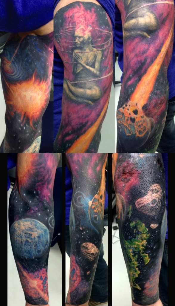 Space Sleeve (print)