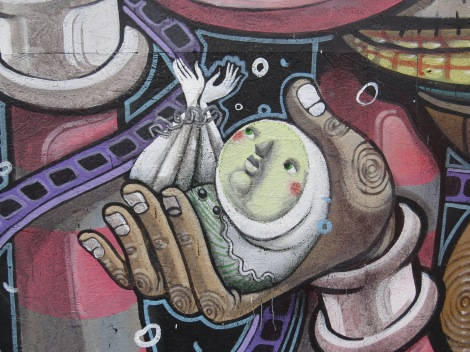 Zed1 detail on Mr. Thoms piece.