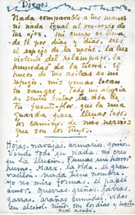 Frida Kahlo - Journal Entry